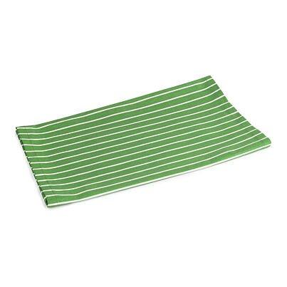 Ubrus běhoun proužek zelená