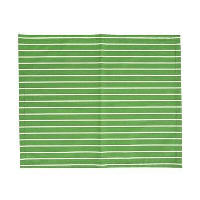 Tányéralátét - zöld csík
