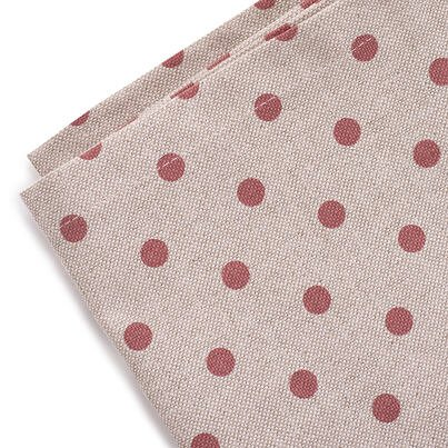 Suport farfurie - cu puncte roșu