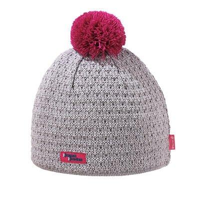 Pletená čiapka merino KAMA K36  ružová