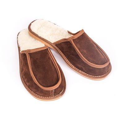 Pánske kožené papuče pardály
