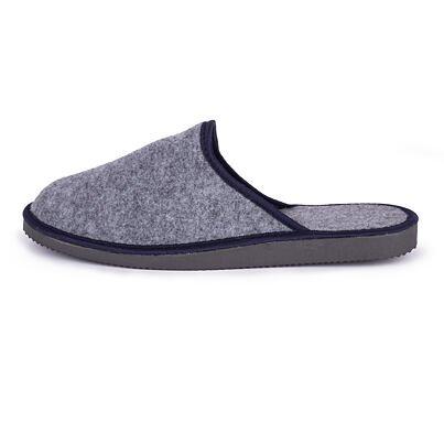 Pánske filcové papuče  sivá