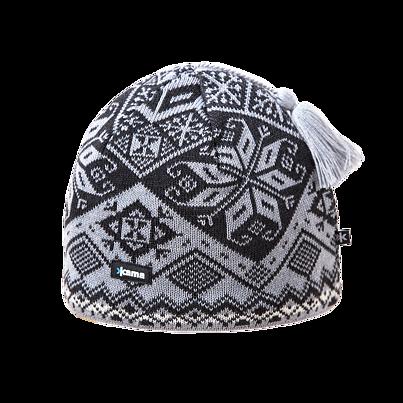 Căciulă tricotată Merino Kama AW61 - Negru