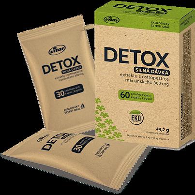 Detox 60 kapslí EKO