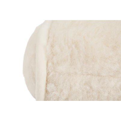 Henger párna birka gyapjúból - természetes