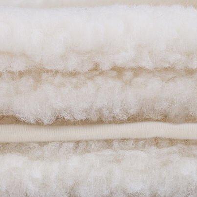 Lepedő birka gyapjúból NATURAL