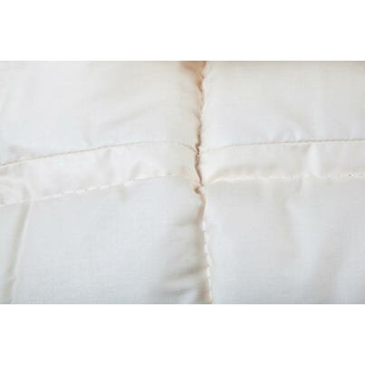 Traditional French-quilted summer blanket with sheep wool 200x220