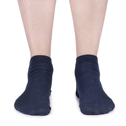 Summer ankle socks Merino 2 pairs -  Gray