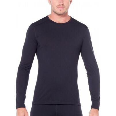 Tricou funcțional pentru bărbați Merino 200 Oasis Icebreaker - Negru