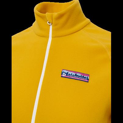 Women's Fleece Sweatshirt with zipper THERMOWAVE -  Yellow