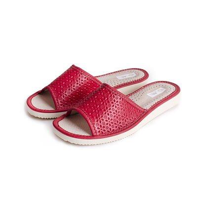 Papuci de vară din piele