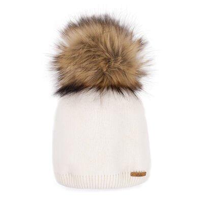 Wool cap Vlnka V06 - White
