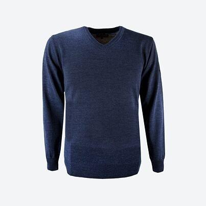 Unisex sweater merino Kama 4104 - Dark Blue / Navy