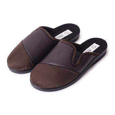 Pánske celoročné papuče  hnedá