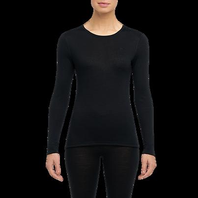 Dámske funkčné tričko merino ONE50 Thermowave -  čierna