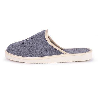 """Women's felt slippers """"Mouse"""""""