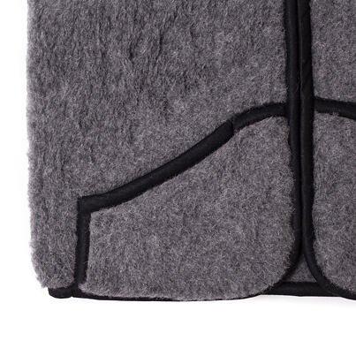 Wool vest - Dark Gray