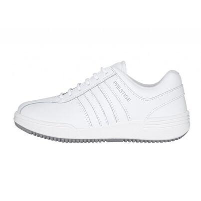 Leather sport sneakers PRESTIGE -  White