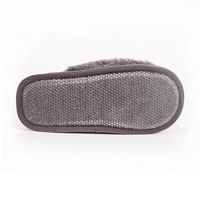 Wool slippers - Dark Gray